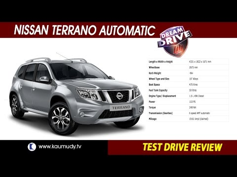 Nissan Terrano  Automatic | Test Drive Review | Dream Drive