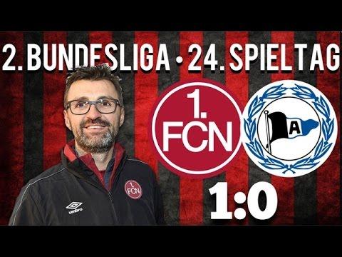 24. Spieltag • 1.FC Nürnberg : Arminia Bielefeld