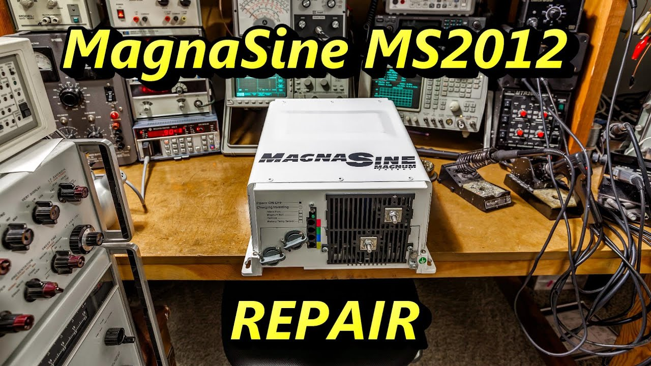 magnasine ms2012 inverter charger troubleshoot and repair [ 1280 x 720 Pixel ]