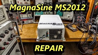 Magnasine MS2012 Inverter Charger Troubleshoot and Repair