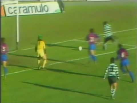 16J :: Chaves - 2 x Sporting - 1 de 1986/1987