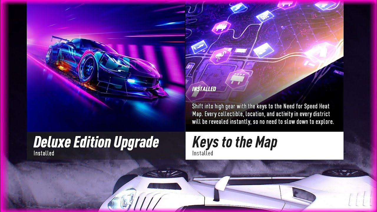 Need For Speed Heat Keys To The Map All Collectibles Youtube
