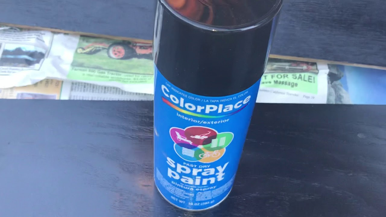 Colorplace Can Spray Paint Review You