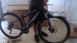 Unboxing Radon Bike (ZR TEAM 7.0)  / Desembalando Bicicleta Radon