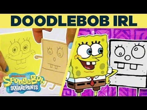 DoodleBob IRL Recreation! 🍞 | #SpongeBobSaturdays