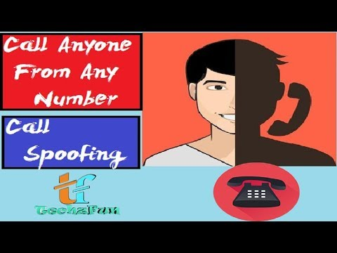 Call Anyone from Any Number App || Call Spoofing Android App 2017 || TechzFun