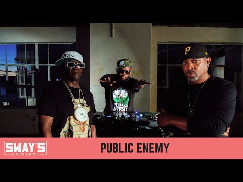 Public Enemy Talks new Album 'What You Gonna Do When The Grid Goes Down' | SWAY'S UNIVERSE