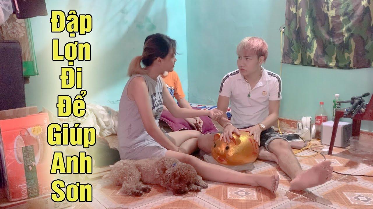 Công Tuyền Bảo Diễm Su Đập Lợn Để Giúp Anh Sơn Béo