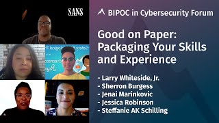 Good on Paper: Packaging Your Skills and Experience (Panel)