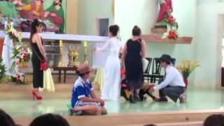 Giáo xứ Hòa Vinh - Monica - 2013 -  Kịch - chân dung thượng đế