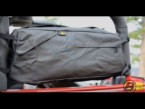Bestop RoughRider Saddle Bags For Jeep Wrangler Overview Tutorial
