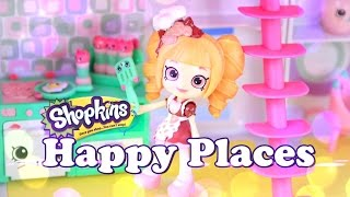Unbox Daily:  Shopkins Happy Places - Happy Home Party Studio Play Set - Toy Review - 4K
