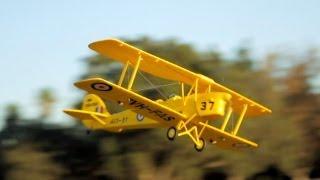 new dynam tiger moth bi plane review