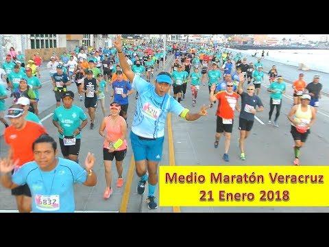 MEDIO MARATON VERACRUZ 2018