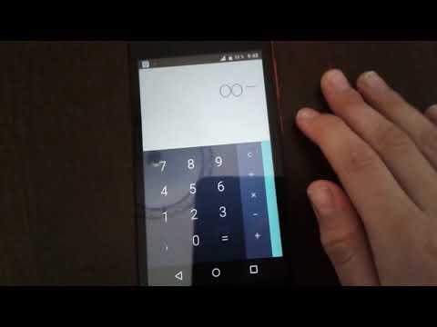 Как сделать бесконечность в калькуляторе