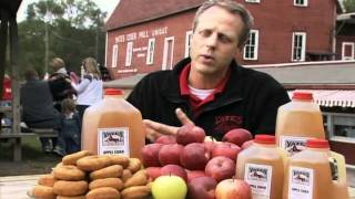 Yates Cider Mill - Making Apple Cider & Donuts