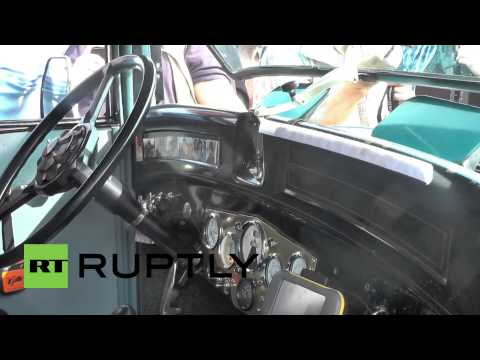 Germany: Woman, 77, embarks on trip around globe in vintage car