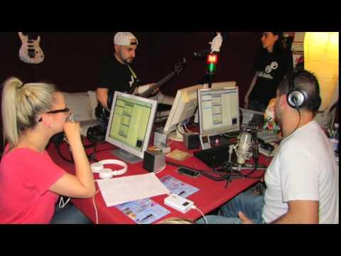 """Fabiano Andreacchio interview at """"I Re Senza Corona"""" Radio Phobia"""