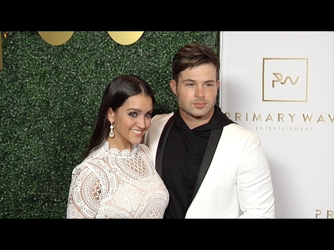 Cody Longo and Stephanie Longo 2017 Primary Wave PreGrammy Event Red Carpet
