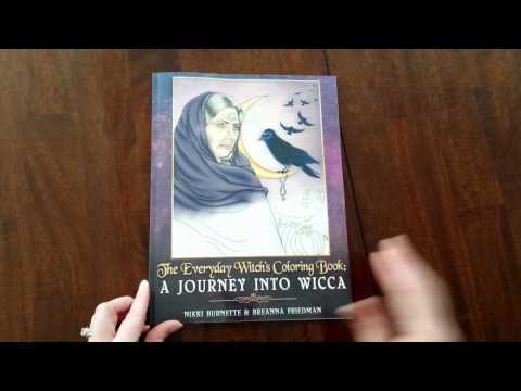 Flip Through – The Everyday Witch's Coloring Book: A Journey into Wicca