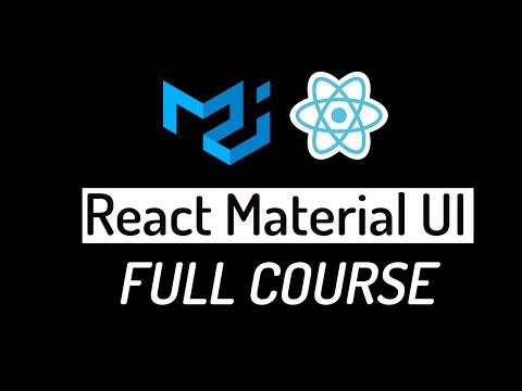 React Material UI Complete Tutorial