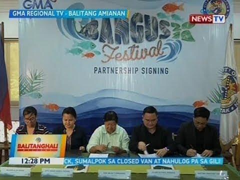 BT: GMA regional TV at Dagupan city gov't, muling pumirma sa isang partnership...