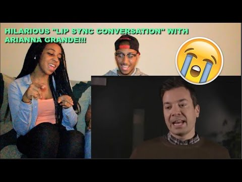 Couple Reacts : Lip Sync Conversation With Ariana Grande Reaction!!!