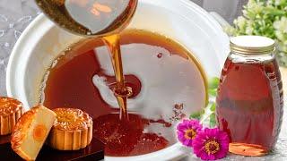 Cách nấu Nước Đường Bánh Nướng làm Bánh Trung Thu đơn giản | How to make Golden Syrup