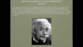 USI Tech Bitcoin Packs