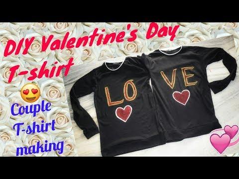 diy-valentine's-day-gift...-couple-t-shirt..diy-t-shirt-making