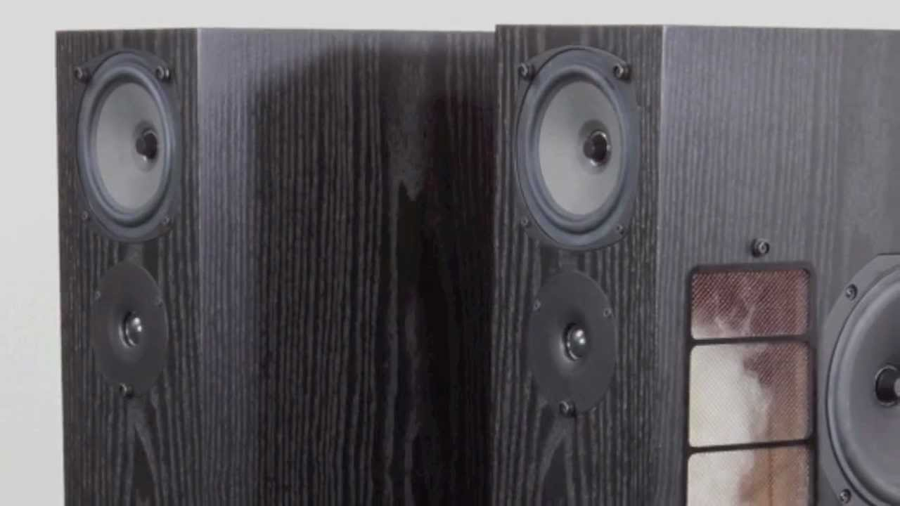 Stereo Design Rega RS7 Speakers in HD  YouTube