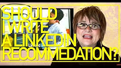 How to Write a Killer LinkedIn Recommendation - Lessons from the Road #25