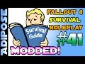 Fallout 4 Survival Roleplay - Modded!! #41 Gangsters, Ghouls and Going Underground