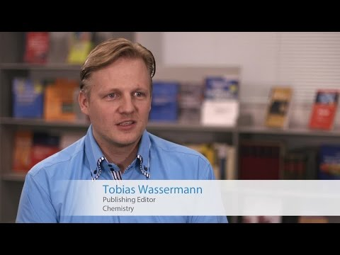 Publish with Springer in Chemistry - Tobias Wassermann