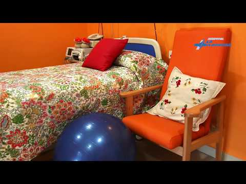 Video para el hospital La Milagrosa de Madrid , Unidad de parto natural