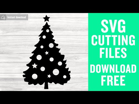 Christmas Tree Silhouette Svg Free Cutting Files Christmas Svg 2020 Svg Cuts Free Vector Free Silhouette Svg Cuts For Cricut Png Dxf 0127 Freesvgplanet