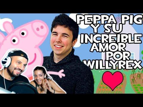 Peppa la cerda quiere ser WillyRex | Video Reaccion | Reaction | Español