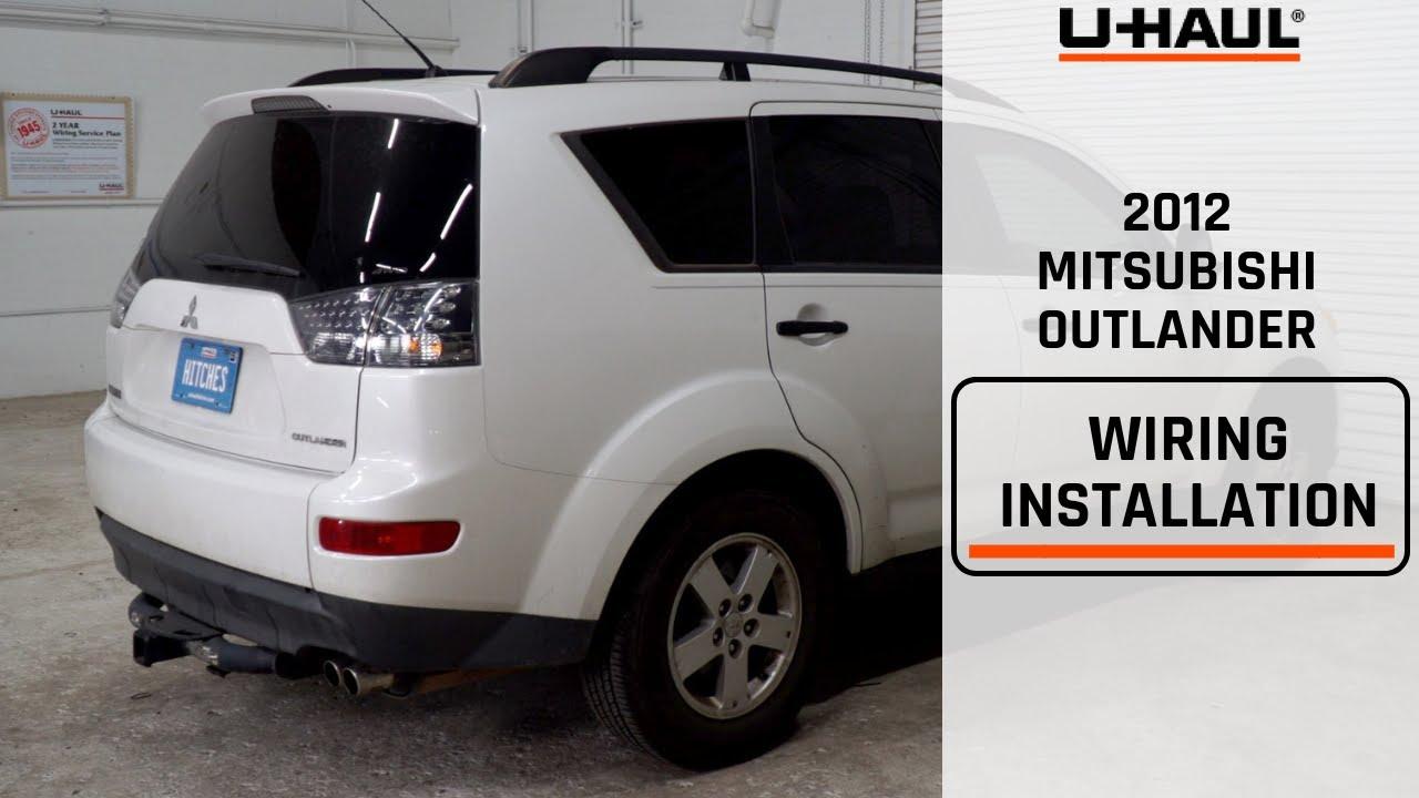 2012 Mitsubishi Outlander Wiring Harness Installation Youtube