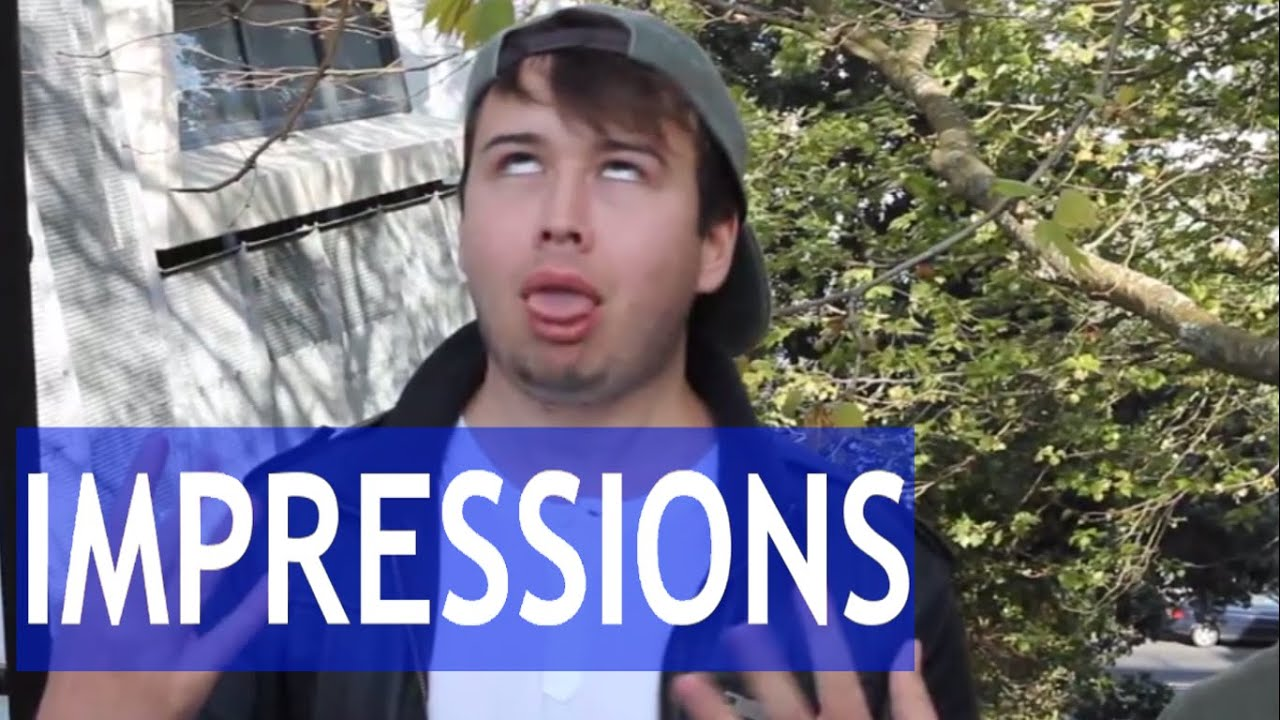 Youtuber And Celebrity Impressions With Sams Life Ollie Langdon