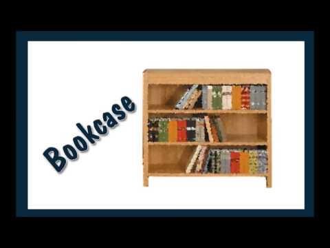 English vocabulary-Furniture and Appliances