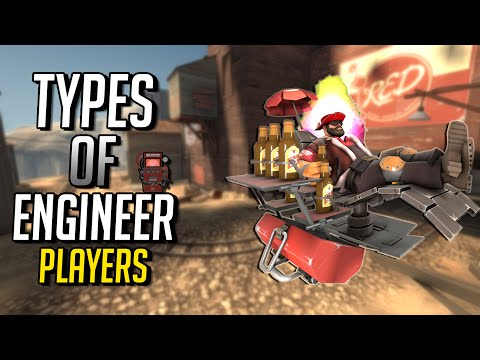 TF2   Team Fortress 2   Types Of Engineer Players