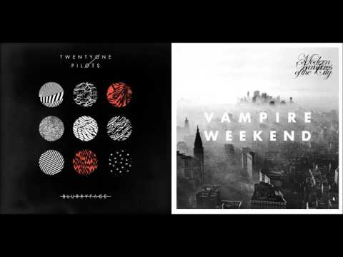 Stepped Out  twenty one pilots vs Vampire Weekend Mashup