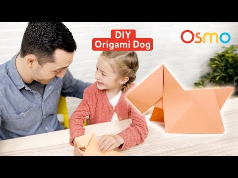 How to Make an Origami Dog: Paper Crafts for Kids | Osmo
