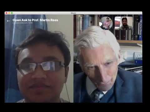 Open Ask on Astronomy - EP 01 - Martin Rees
