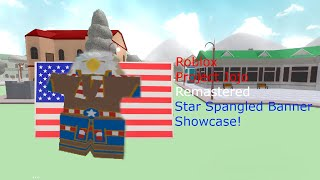 Roblox Project Jojo Remastered Star Spangled Banner Showcase!