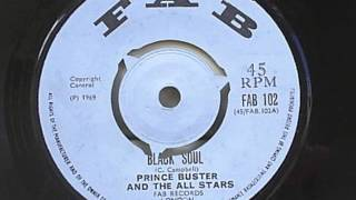 Prince Buster & The All Stars - Black Soul