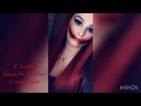 2 Halloween Make-Up Looks (Wax, Latex, Mehl+Vaseline)🎃👻