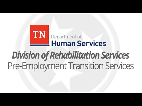 Pre-Employment Transition Services