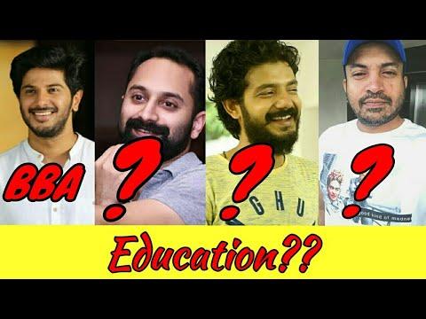 Malayalam leading actors education college and more.. #dulquer#mohanlal#mammoty#sreenathbhasi#soubin