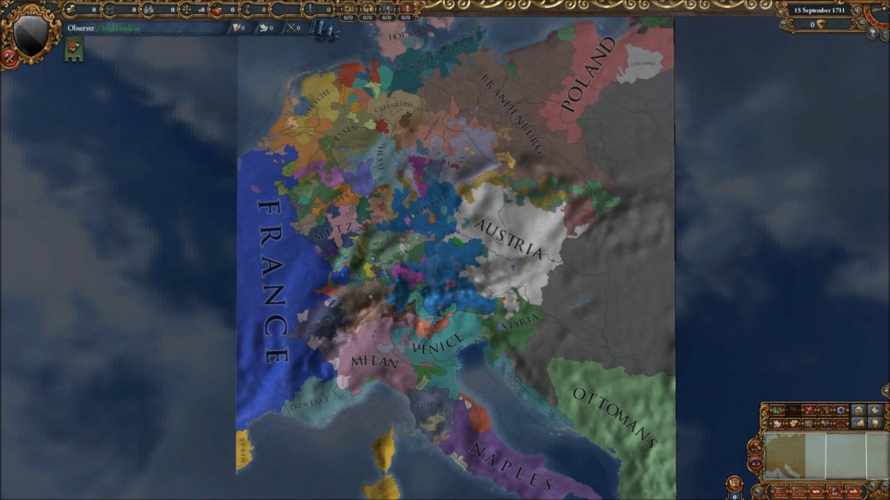 Eu4 Timelapse: Zombies of Voltaire's Nightmare by Michael MykFreelava